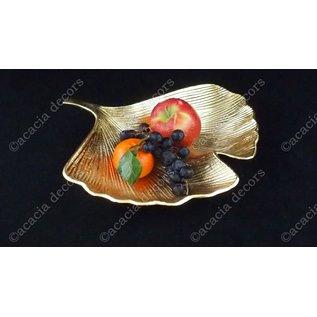 Coupe de fruits feuille de ginko