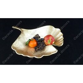 Fruit bowl Ginko leaf Large
