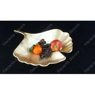 Fruit bowl Ginko leaf Large