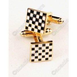 Gemelos de tablero de ajedrez
