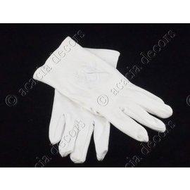 Handschuhe Kompass und Quadrat