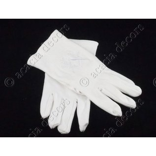 Gloves compass and square