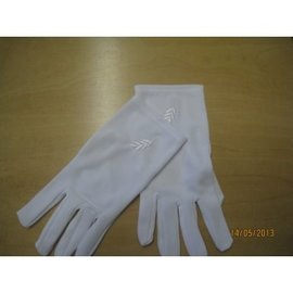 Guantes polyester con acacia