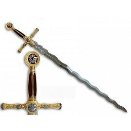 Espada flamígera artesanal