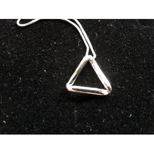 Anhänger mit Ketten - triangle 15mm
