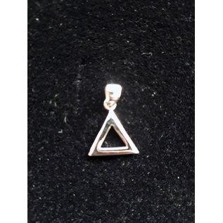 Anhänger mit Ketten - triangle 5mm