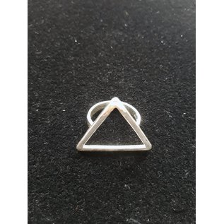 Bague triangle ouvert