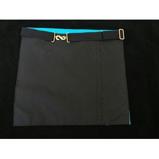 Schurz M & B schwarzer Rückseite und schwarzer Gürtel