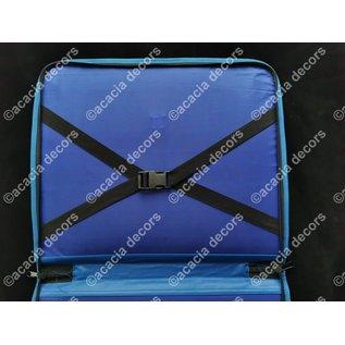 Mallette pour decors - Bleu