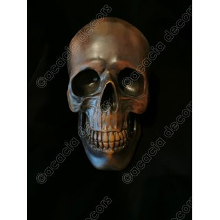 Skull - Copper resin