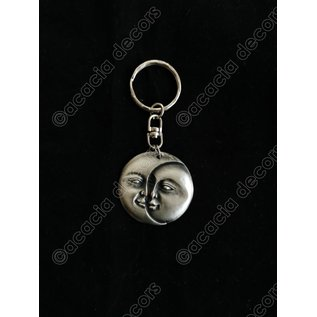 Schlüsselring Sonne und Mond