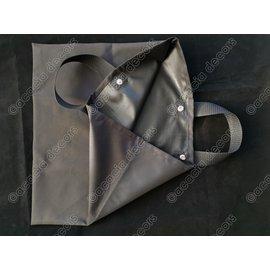 Stoffen draagzak voor schootsvellen en handschoenen  - Eenvoudig