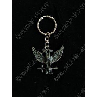Porte-clés  aigle bicéphale