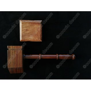 Marter wood  with sound block - square