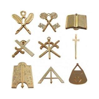 set bijoux officiers 9 pcs