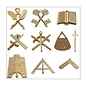 set bijoux officiers 10 pcs