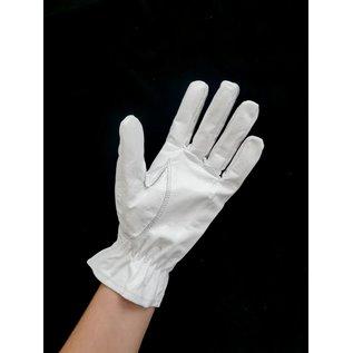 Lederen handschoenen 3 nerven