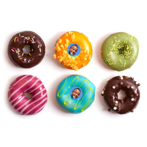 Donuts met foto, 12 stuks