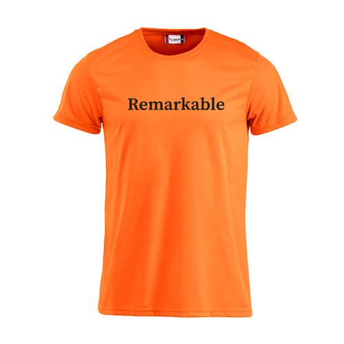 Mannen Neon Shirt met eigen opdruk