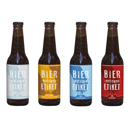 Bier met eigen etiket