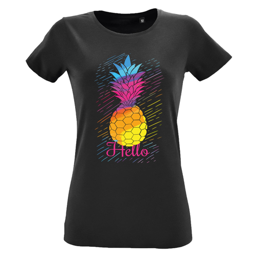 T-Shirt Zwart Woman