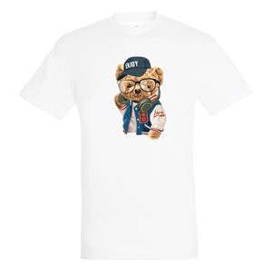 T-Shirt Wit Unisex