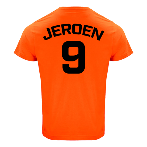 Oranje Supporter Shirt