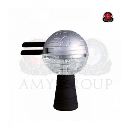 Amy Deluxe GlasSi Globe Kopf Set Silber