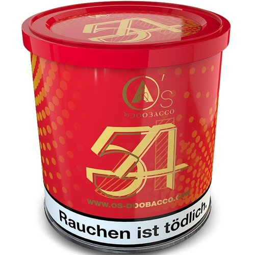 O´s Tobacco Red 54 (200g)
