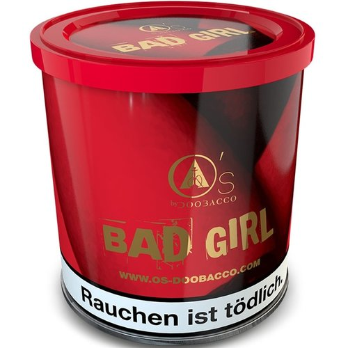 O´s Tobacco Red Bad Girl (200g)