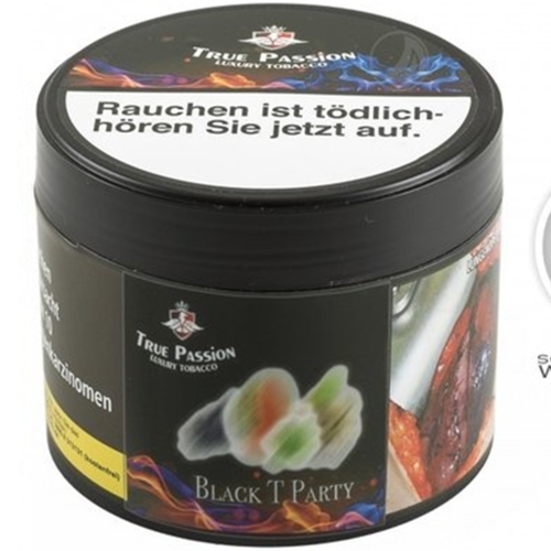 True Passion Black T Party (200g)