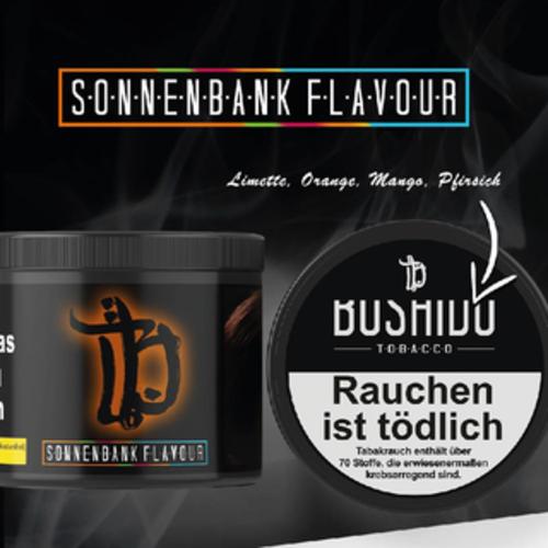 Bushido Tabak Sonnenbank Flavour (200g)