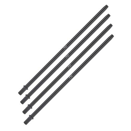 Caesar Caesar - 410 C Stainless Steel S Clear - Das ultimative 4 Schläuche Shisha Galaxy Komplett Set Paket