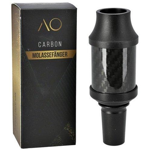 AO Hookah Accessories AO Carbon Molassefänger 18/8er Aluminium Black