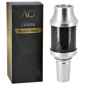 AO Hookah Accessories AO Carbon Molassefänger 18/8er Aluminium Silver