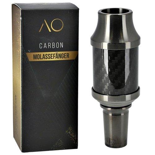 AO Hookah Accessories AO Carbon Molassefänger 18/8er Edelstahl Gun Metall