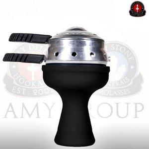 Amy Deluxe Heatbox Silikon Kopfset Black