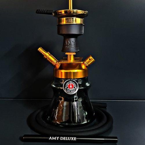 Amy Deluxe Alu Sphere Bag Gold & Black