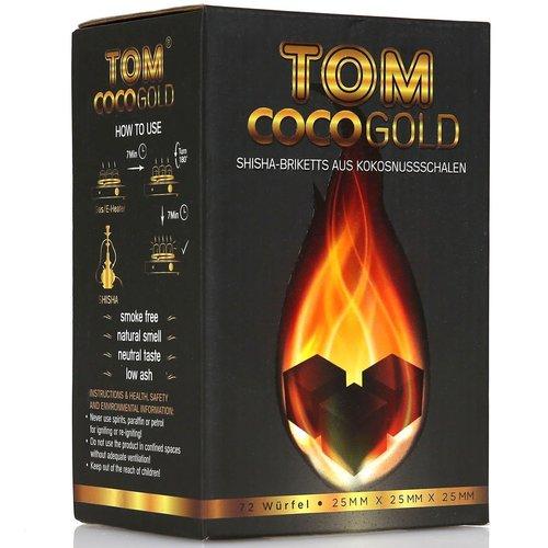 Tom Cococha Tom Cococha Gold 1 kg - 25er Cubes - Naturkohle