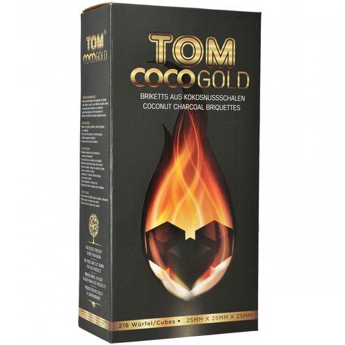 Tom Cococha Tom Cococha Gold 3 kg - 25er Cubes - Naturkohle