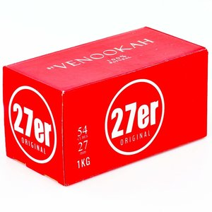 Venookah Venookah  - 1 kg - 27er Cubes - Naturkohle