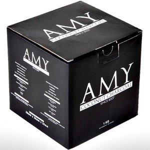 Amy Deluxe Amy 1 kg - 26er Cubes - Naturkohle