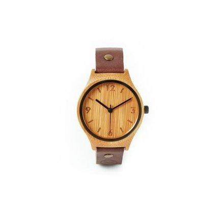 Prachtige bamboe horloges van topkwaliteit