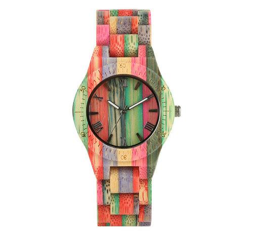 Dames horloges Bamboe horloge Londen dames