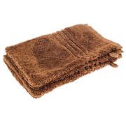 Washand Bamboe washand 21 X 16 cm bruin