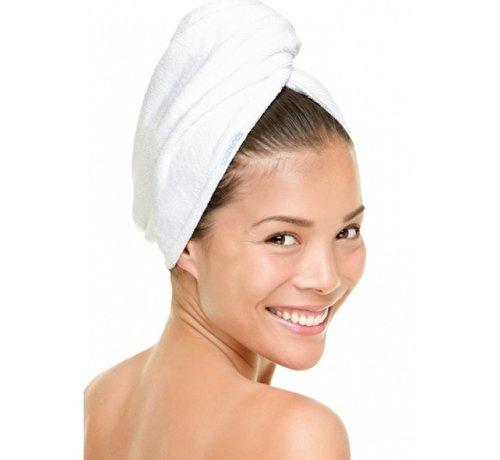 Hoofdhanddoeken Zachte hoofdhanddoek van bamboe wit