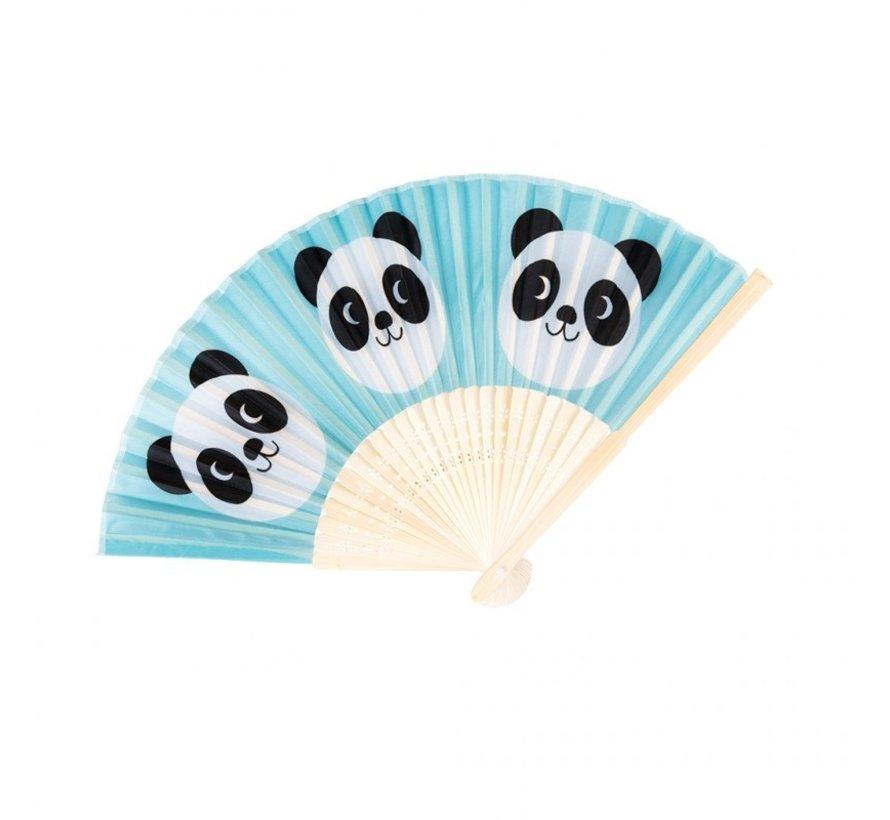 Bamboe waaier Miko de panda