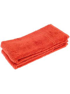 Handdoeken 50 x 30 cm Handdoek set van 2 stuks rood 50 x 30 cm