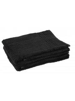 Handdoeken 100 x 50 cm Handdoek zwart 100 x 50 cm