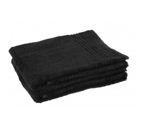 Handdoeken 100 x 50 cm Bamboe handdoek zwart 100 x 50 cm